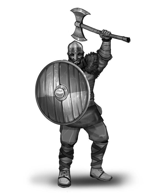 Axe Raider - No Horns