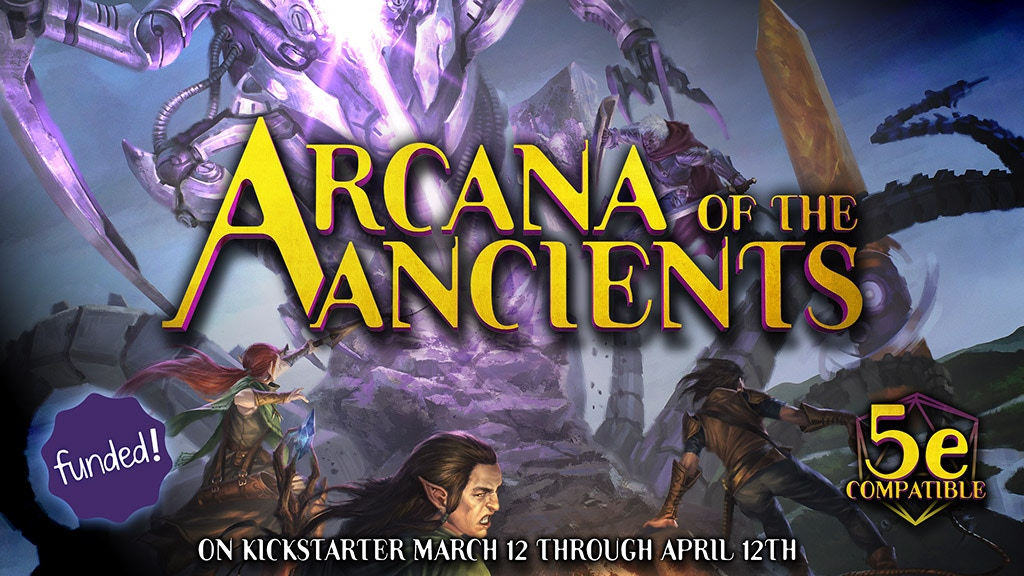 Arcana of the Ancients, a 5E science-fantasy sourcebook project video thumbnail