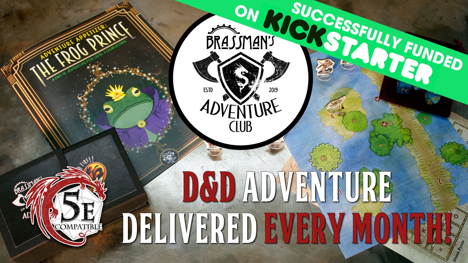 Monthy Subscription Service for DnD Adventures and Accessories