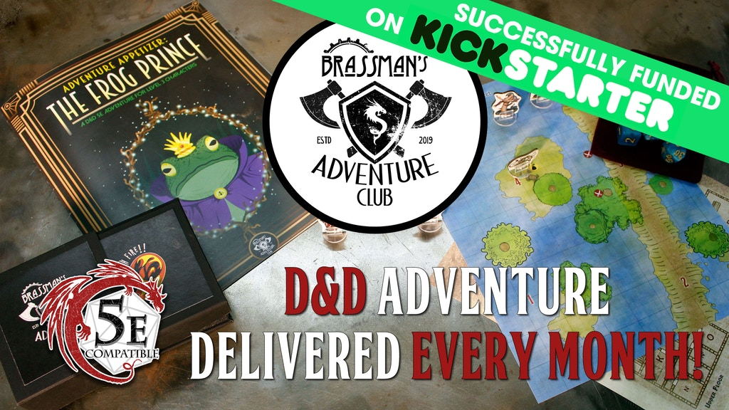 Brassman's Adventure Club project video thumbnail