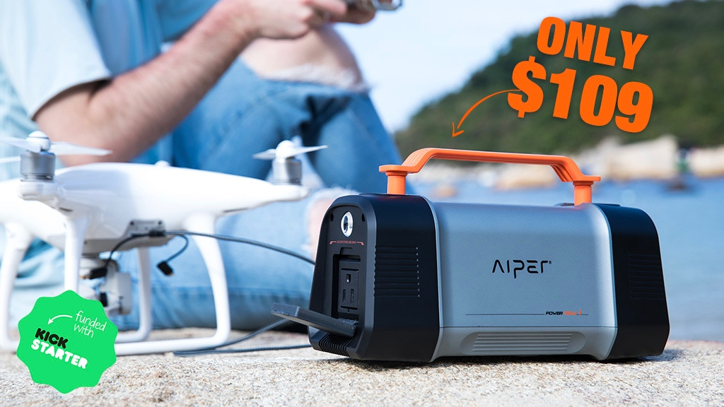 AIPER FLASH 150W: The Most Reliable Portable Power Station project video thumbnail