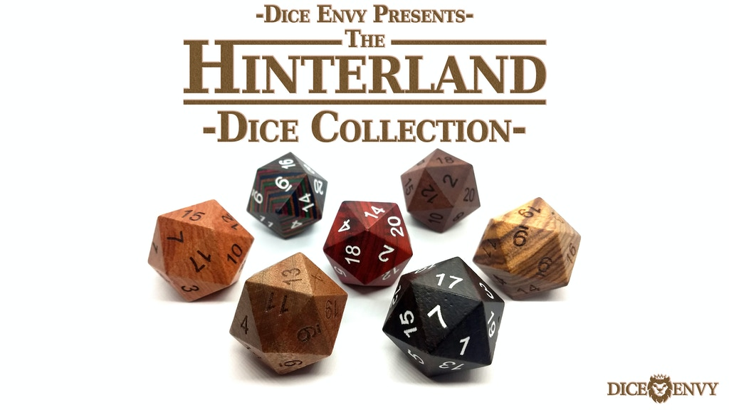 Dice Envy Presents: The Hinterland Dice Collection project video thumbnail