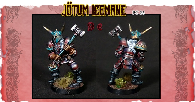 Jötum Icemane, the nordic Chaos Champion.