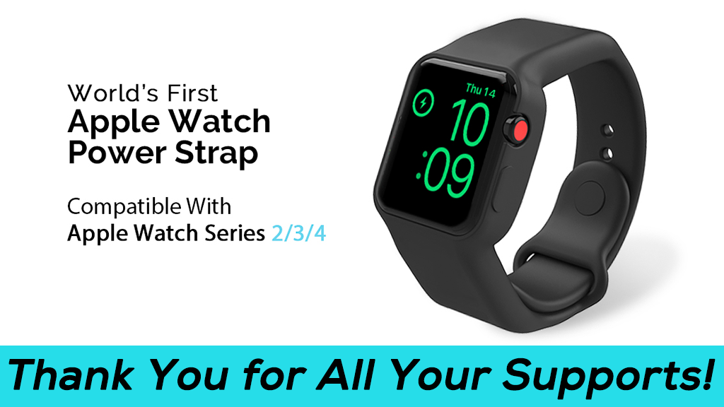Batfree, World's First Power Strap for Apple Watch project video thumbnail