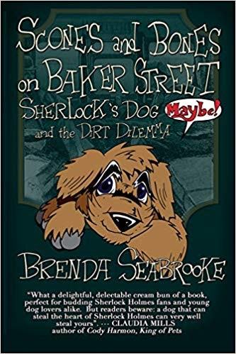 Learn how Digby meets Sherlock Holmes in Scones and Bones on Baker Street