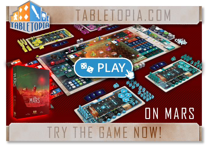 Try 'On Mars' on Tabletopia.com now!