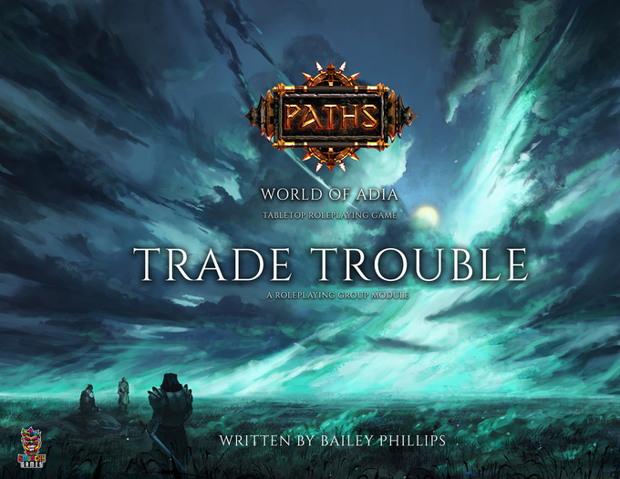 Trade Trouble is a Kickstarter Exclusive Classic Module