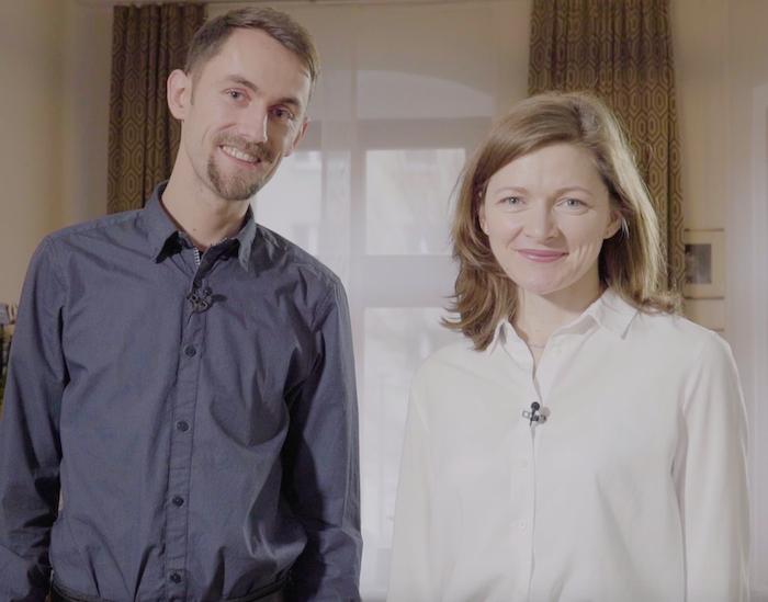 Markus Uhlig und Nora Baum, die Gründer von Pattarina