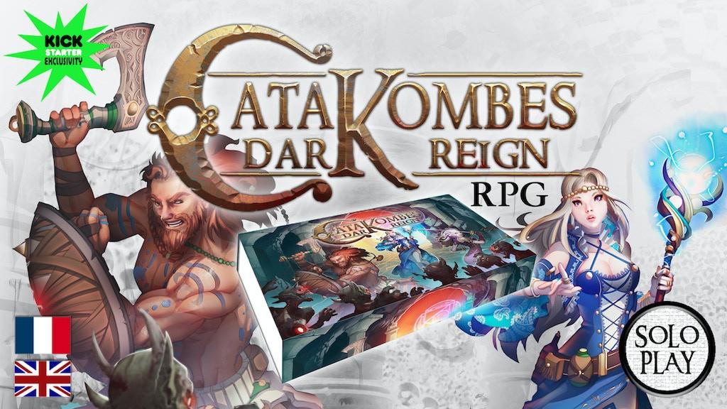 Catakombes Dark Reign R.P.G. project video thumbnail