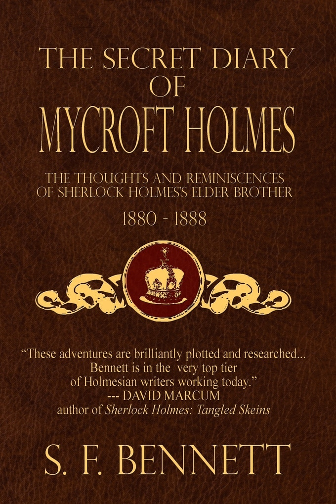 Discover the Thoughts and Ruminations of Sherlock Holmes's Older Brother in The Secret Diary of Mycroft Holmes