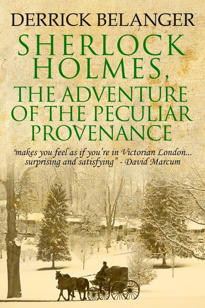 An Amazon.com #1 Bestseller in which Holmes Investigates a Case of Art Theft and Murder!