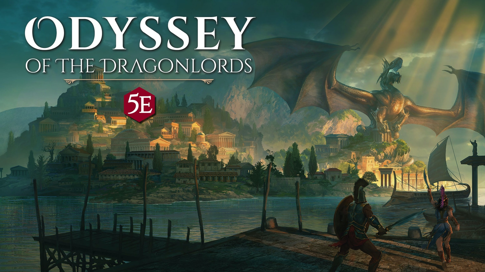 Odyssey of the Dragonlords: 5th Edition Adventure Book