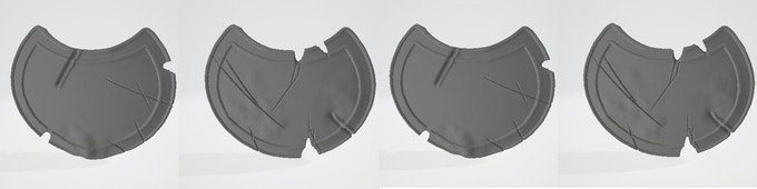 Persian Shields Pack 1