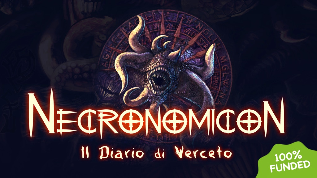 Necronomicon - The Verceto's Diary project video thumbnail