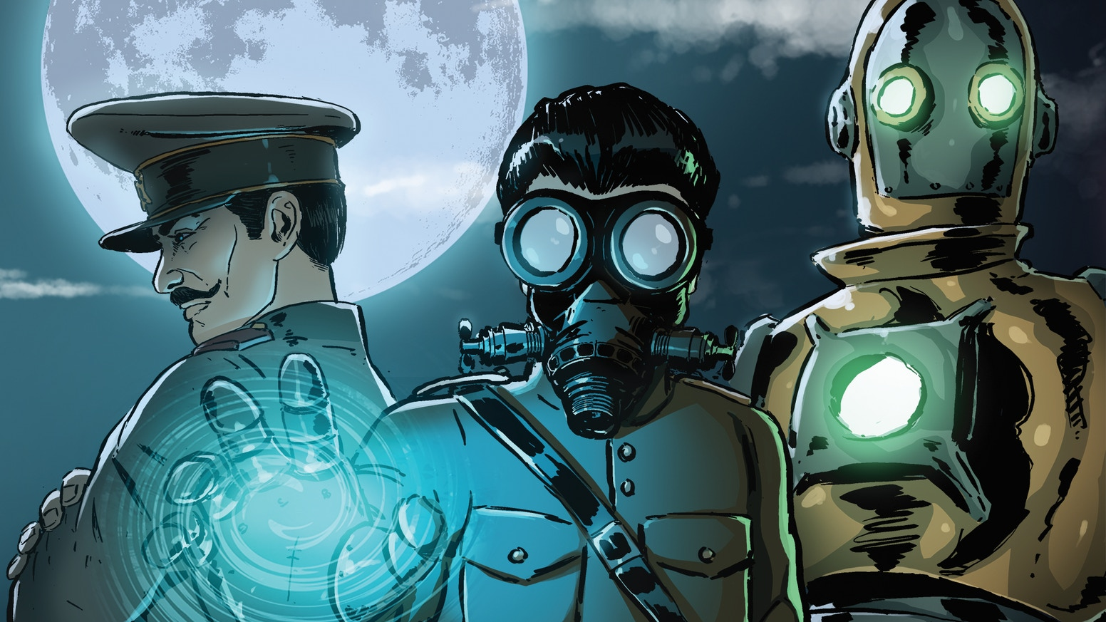 f12b2f8f6 The Traveller - A Steampunk adventure comic by TPub Comics — Kickstarter
