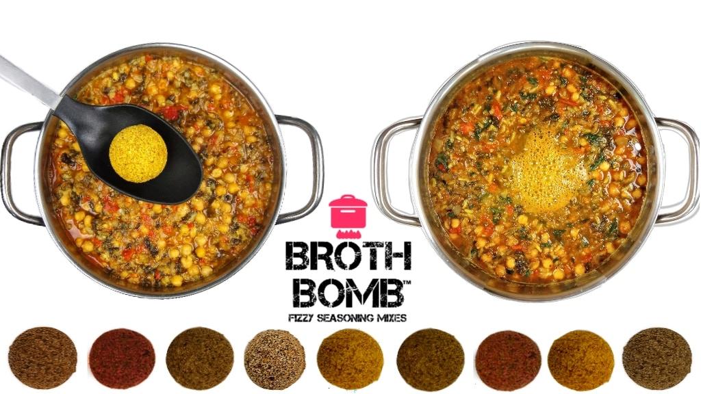 Broth Bomb™: Fizzy Seasoning Mixes project video thumbnail