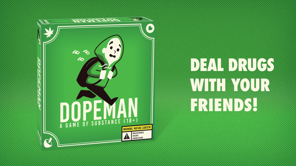DOPEMAN: The Board Game project video thumbnail