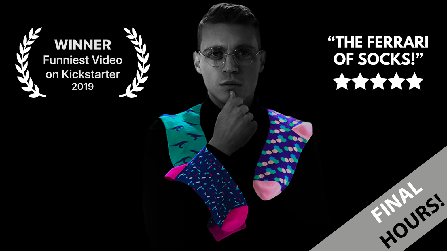 Luxuriously bold, comfortable & eco-friendly socks, revamped with 8 game changing features to bring you the best damn socks period.