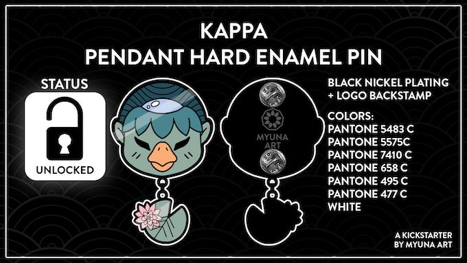 UNLOCKED – Goal 9: Kappa Pendant Enamel Pin (3.250€)