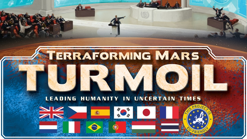 Terraforming Mars: Turmoil project video thumbnail