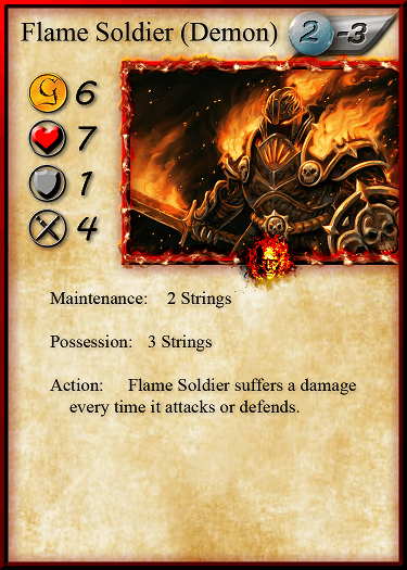 Flame Soldier we have art for with his fancy new digs.