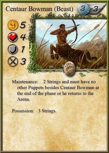 Centaur Bowman looking fly with his breezy border.