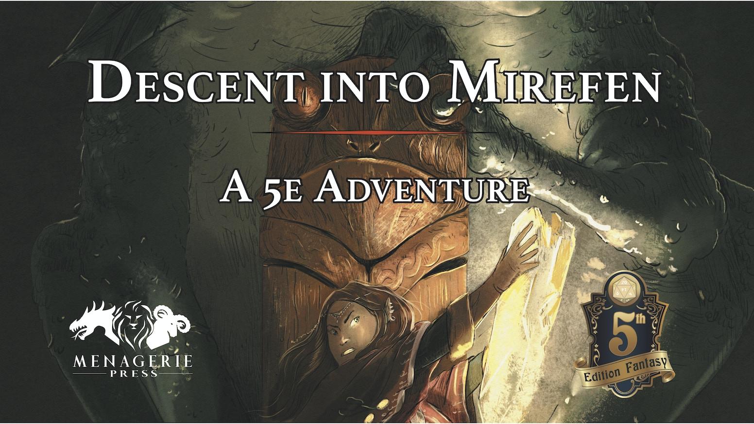 Descent Into Mirefen A D D 5e Adventure By William Murakami