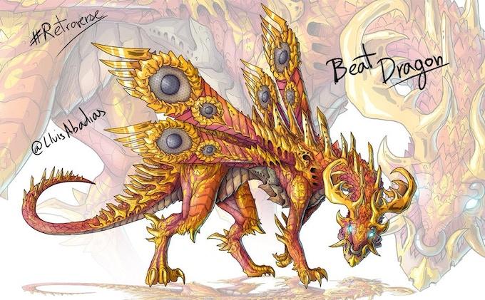 The inspirational dragon