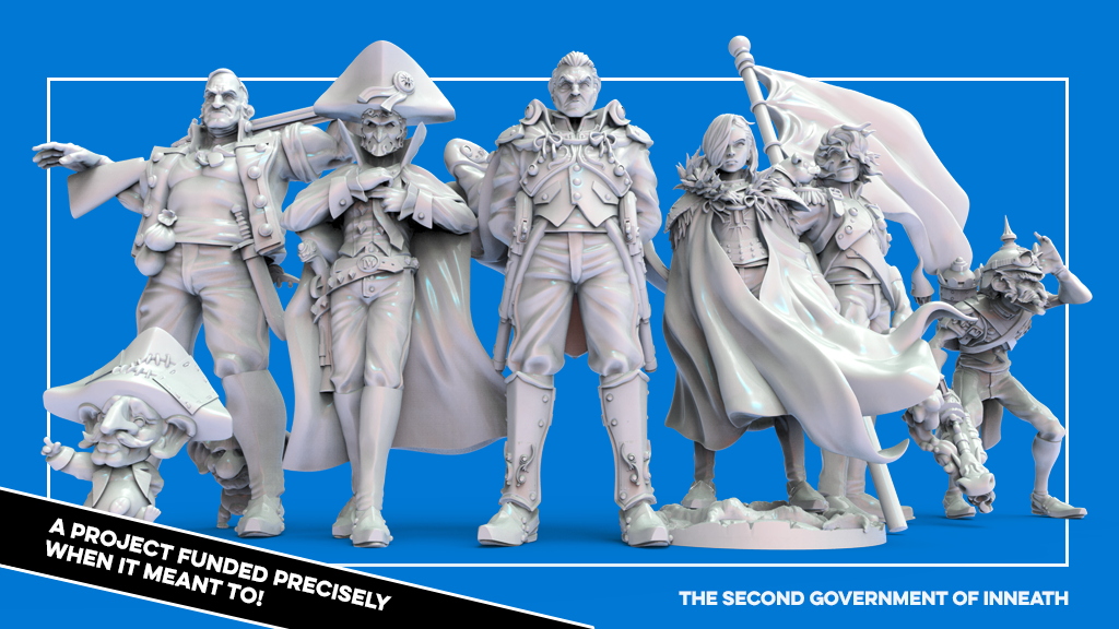 The Second Government of Inneath: 32mm fantasy miniatures project video thumbnail