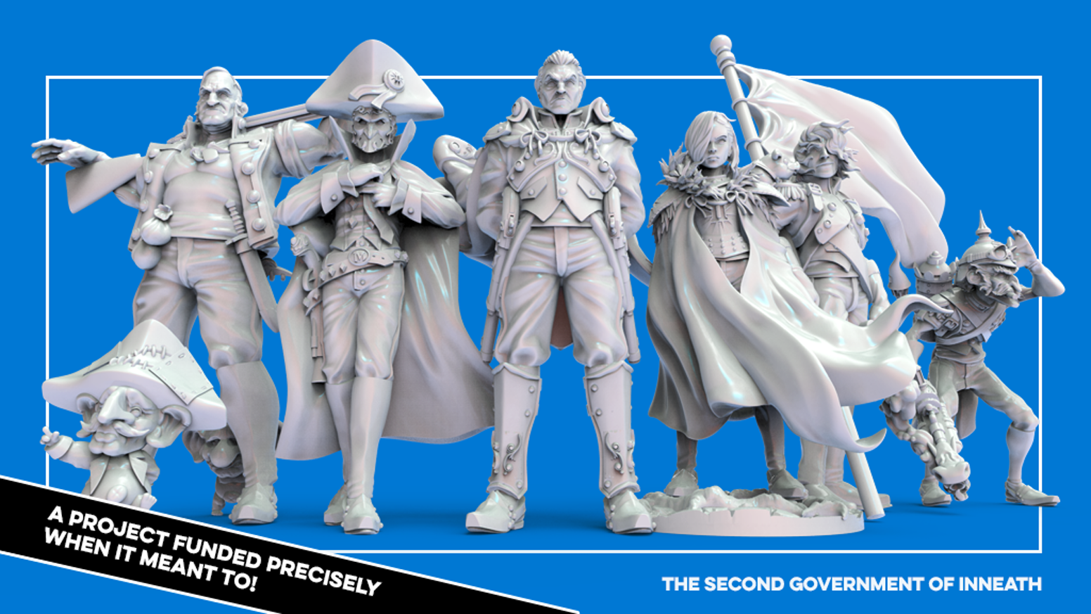 Is it possible to sculpt a range of 32mm miniatures worthy of the greatest nation of Inneath? We're here to figure it out!