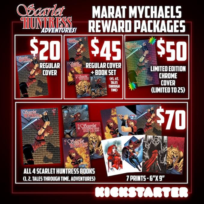Marat Mychaels Packages!