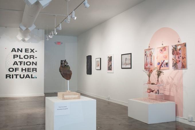2018 An Exploration of Her Ritual Exhibition, WISH Gallery, Atlanta, GA