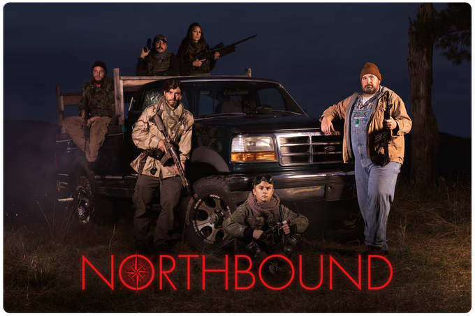 Promotional photo by NORTHBOUND 3 cinematographer Michael Johns, featuring Alex's team of Infinity Group guerrillas