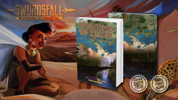 If you missed the campaign, no worries! Pre-Orders are open on the website! Hit that Pre-Order button or to swordsfall.com to get your copy!