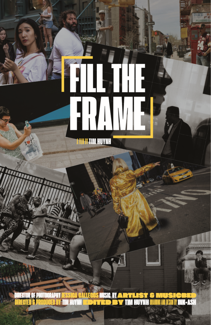 """Official """"Fill The Frame"""" Movie Poster"""