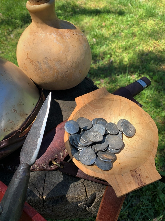 Dice Vaults and Treasure Coins: Tabletop RPG Accessories by