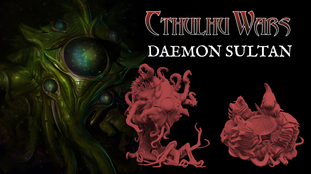 Cthulhu Wars: the Daemon Sultan project video thumbnail