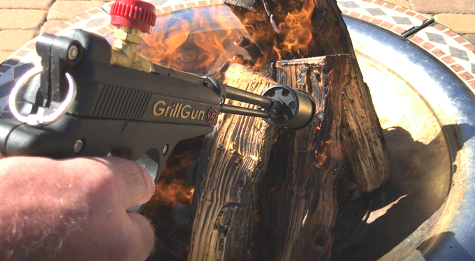"The GRILLGUN...""The Ultimate Grill Torch!"""