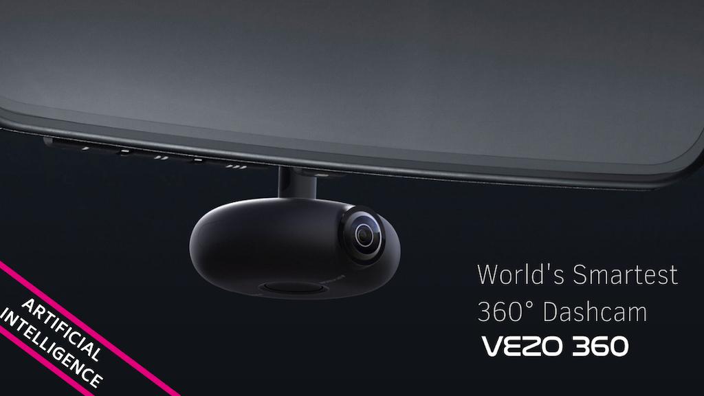 VEZO 360 - The First 4K 360˚ Smart Dash Cam