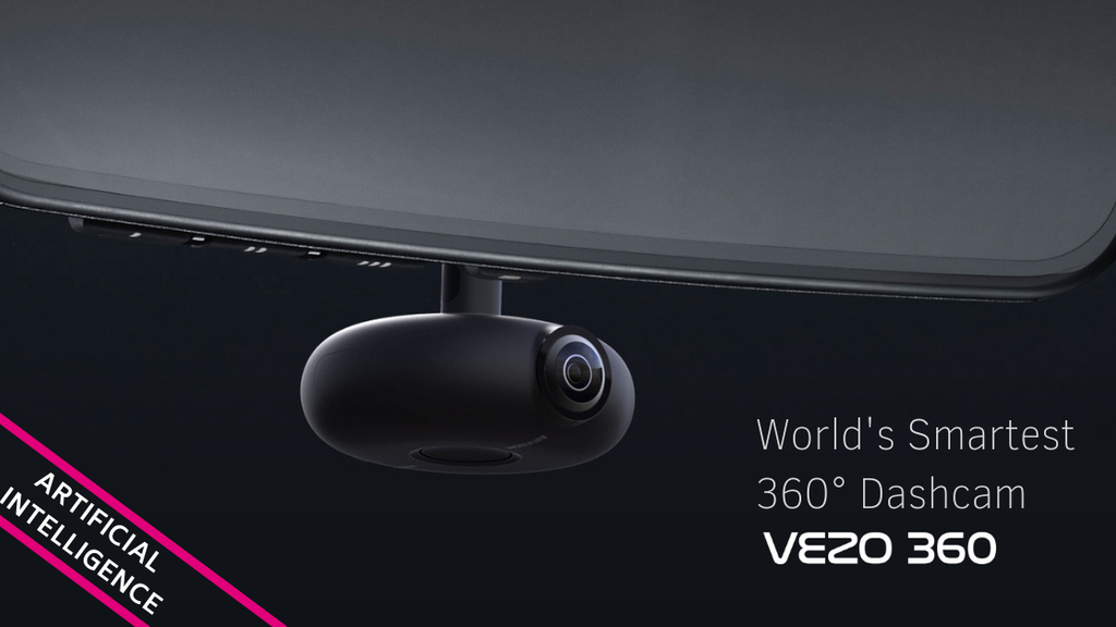 VEZO 360 - The First 4K 360˚ Smart Dash Cam project video thumbnail