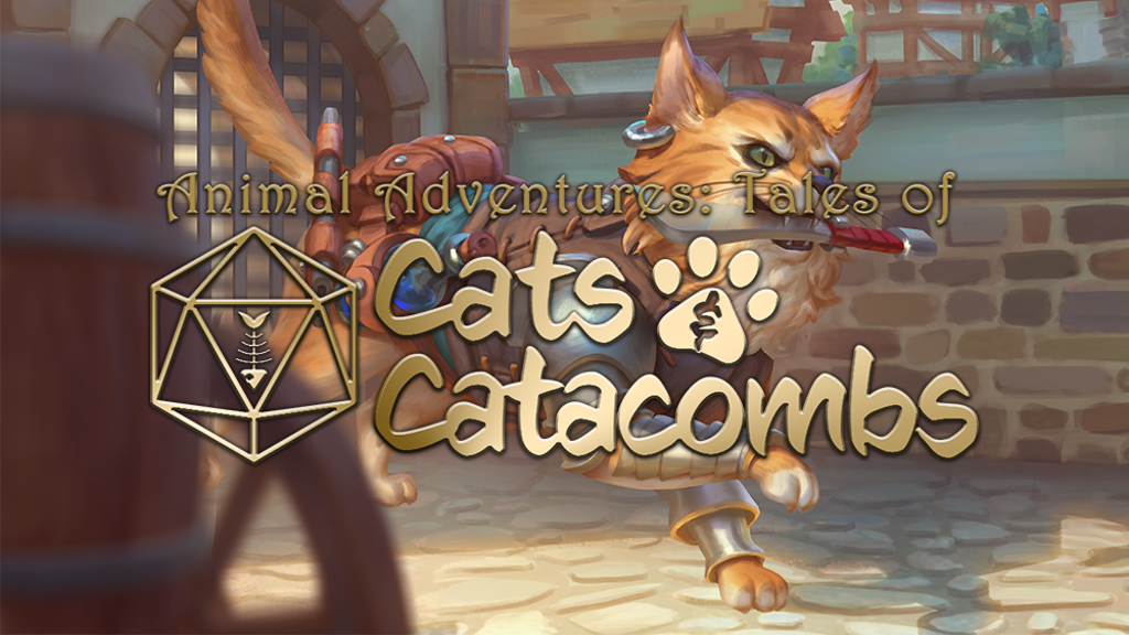 Animal Adventures: Tales of Cats and Catacombs by Russ
