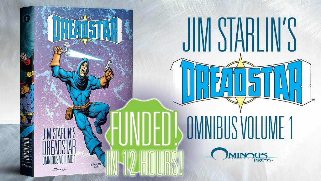Thanos Creator Jim Starlin's Dreadstar Omnibus project video thumbnail