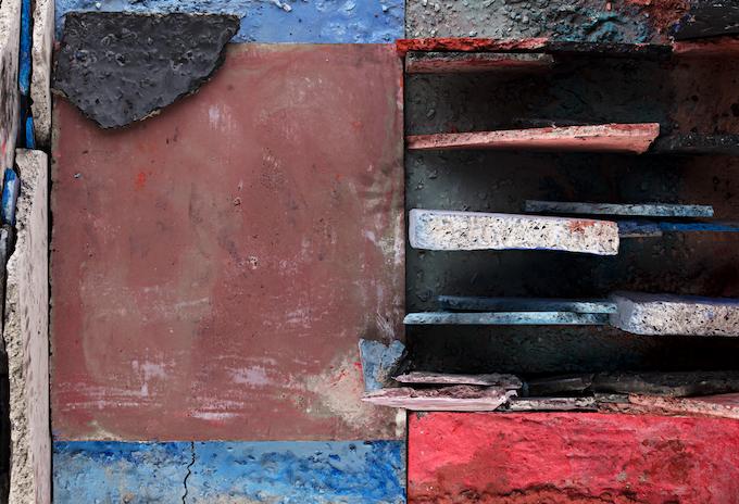 "(Untitled) Concrete Color Arrangement     ----     Exclusive Limited Edition 8"" x 10"" print received at $250 Reward Level"
