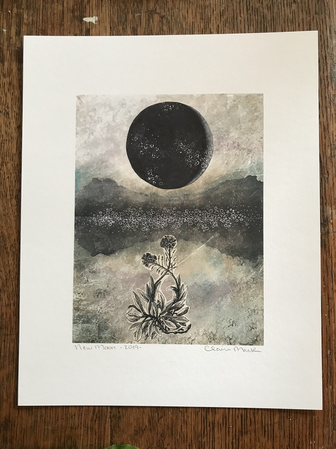 New Moon, exclusive limited-edition print
