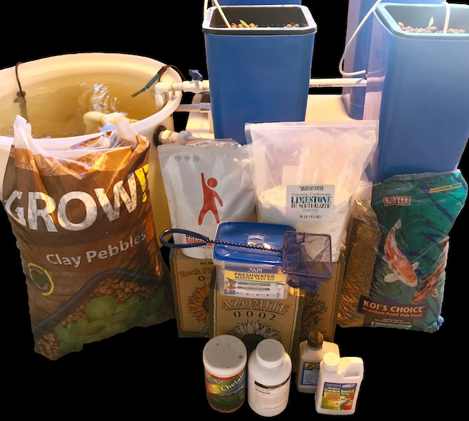 EPIC AquaGrow Mini Aquaponic System w/ Majority of Patented Supplement Source Compounds!