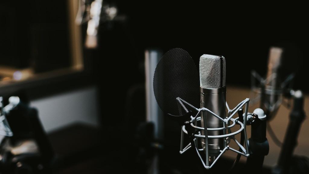 Project image for Estudio de grabacion de voz