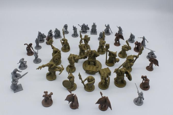 DnD miniatures.