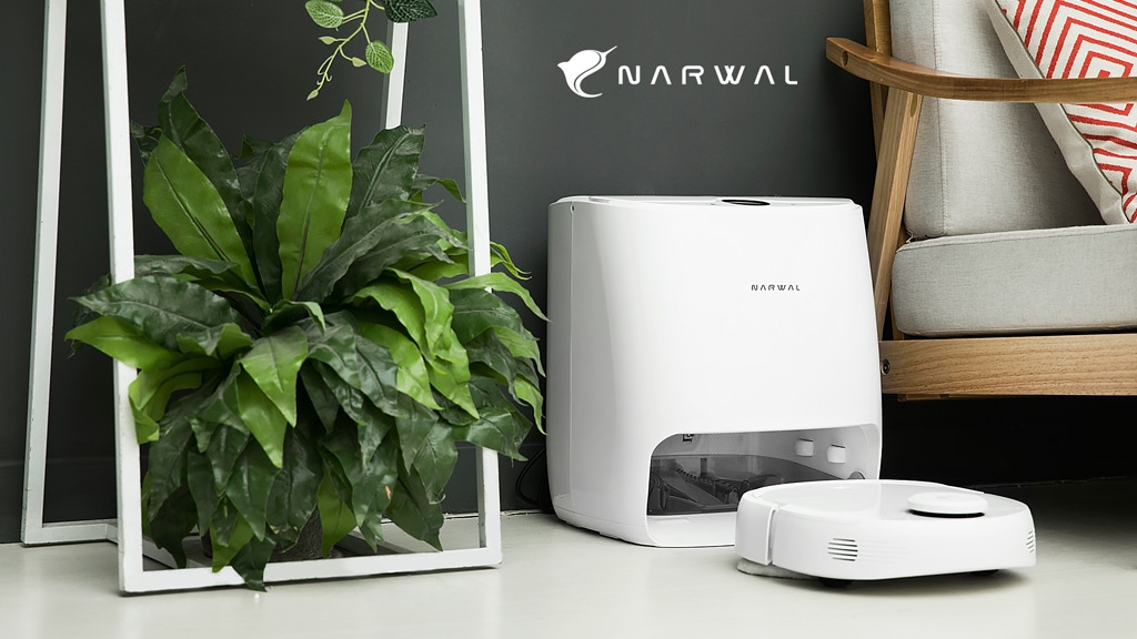 Narwal: World's First Self-Cleaning Robot Mop & Vacuum project video thumbnail