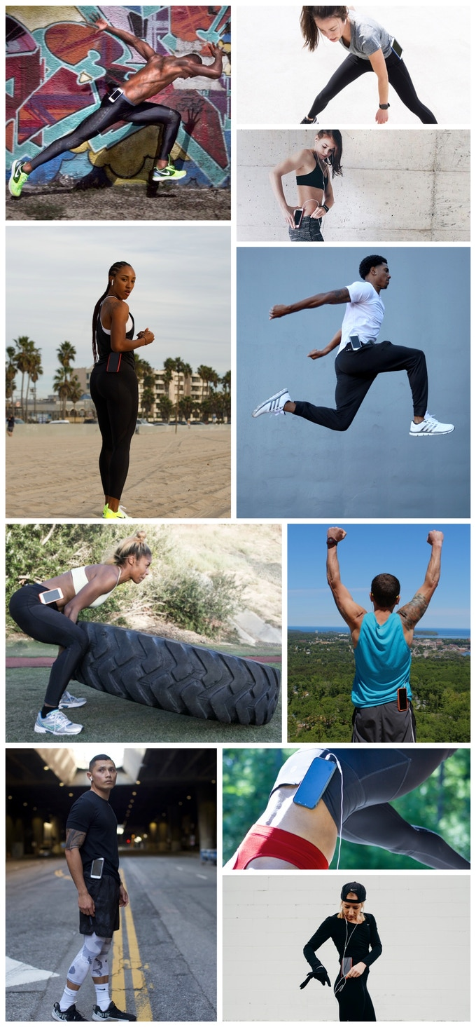 Faces of SlimClip - Pro Athletes & Fitness Pros