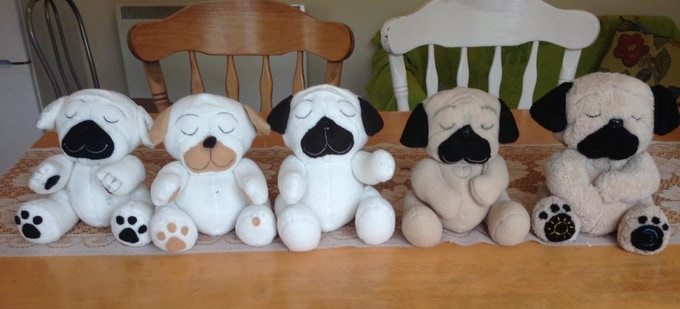 Julieanne's lovely sister-in-law made every one of these by hand until Moe was just right.  (forever grateful to Cris)